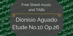 Aguado guitar free pdf