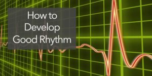 develop internal sense of rhythm beat timing