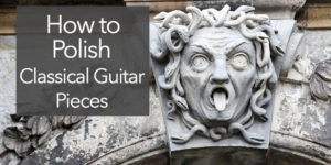 polish classical guitar performance professional level