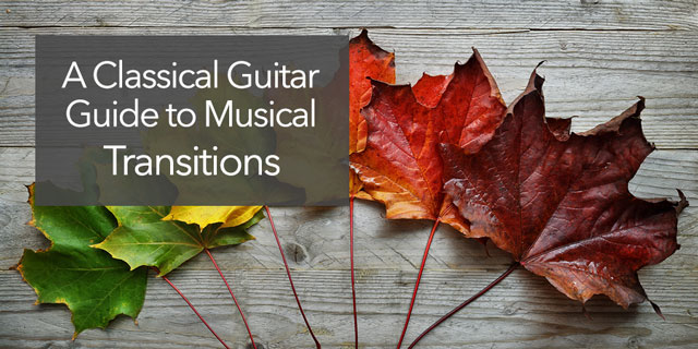musical transitions phrasing expression guitar