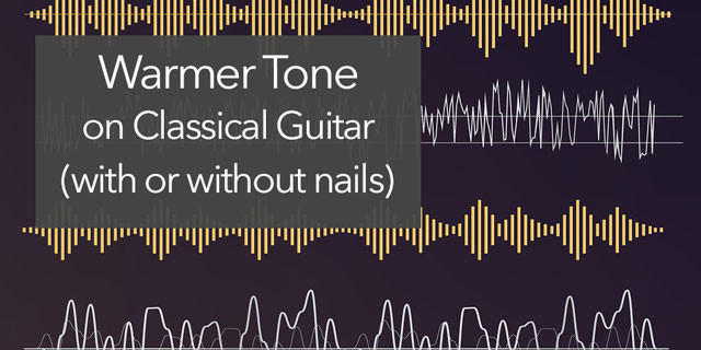 classical guitar tone nails
