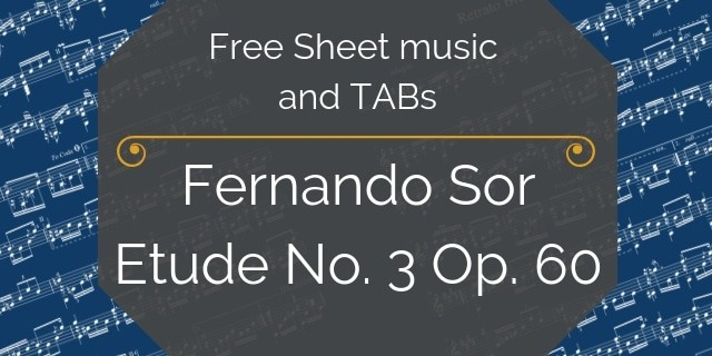 Sor Free pdf music