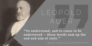 Leopold Auer practice