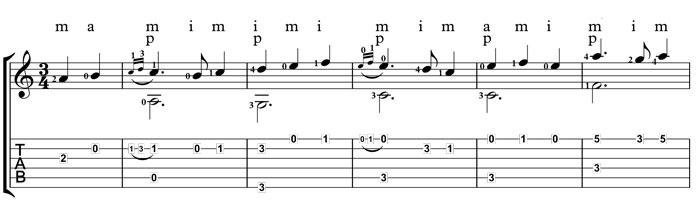 espanoleta guitar course