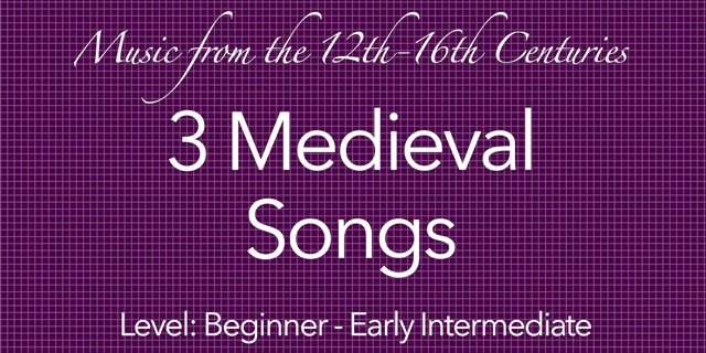 medieval guitar songs