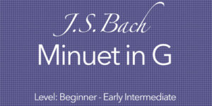 bach minuet in g guitar