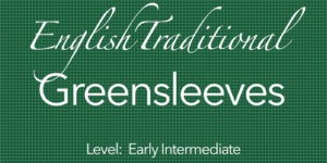 greensleeves guitar lesson course