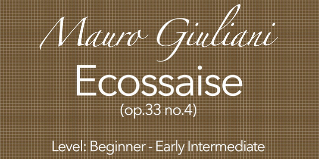 giuliani guitar course
