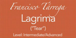 Lagrima Learn Play Gutiar