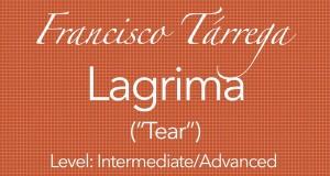 Lagrima Learn Play Gutiar