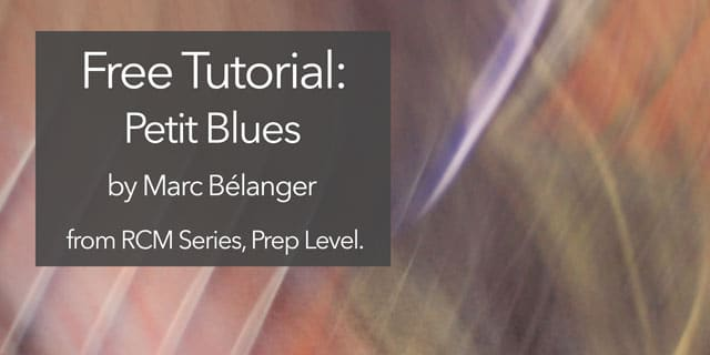 rcm guitar petit blues marc belanger