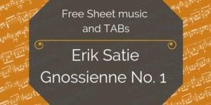 satie free guitar pdf