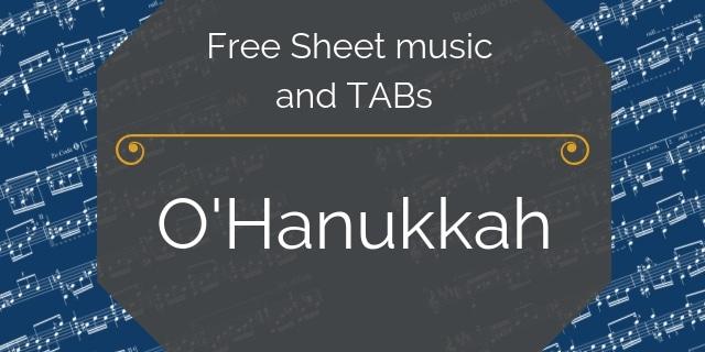 hanukkah guitar holiday music