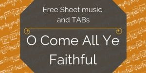 come faithful guitar pdf