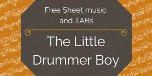 drummer boy guitar classical