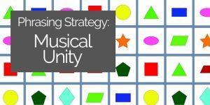 phrasing musical unity classical guitar