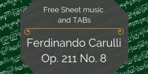 carulli classical guitar free