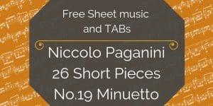 paganini free music pdf