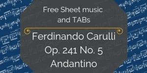 Carulli free music pdf