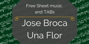 Broca free guitar music