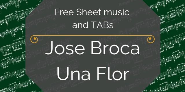 Broca free guitar music