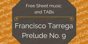 tarrega free guitar pdf