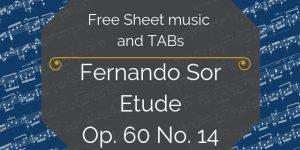 sor free tabs music