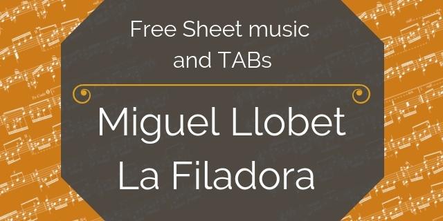 llobet free guitar pdf