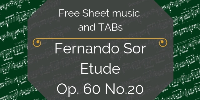 Sor Free guitar download
