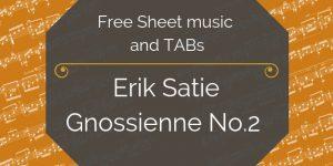 satie guitar music download