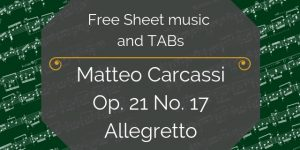 carcassi free music notation