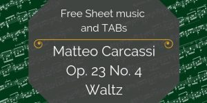 carcassi free music pdf