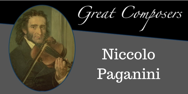 Niccolo Paganini - Free Sheet Music and TABs for Classical