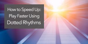guitar speed play faster increase tempo