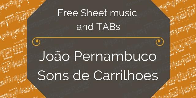 Pernambuco free sheet music