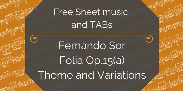 Sor free music download