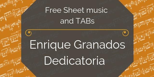 Granados free guitar pdf