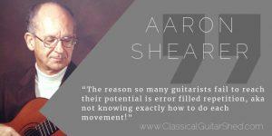 aaron shearer guitar practice