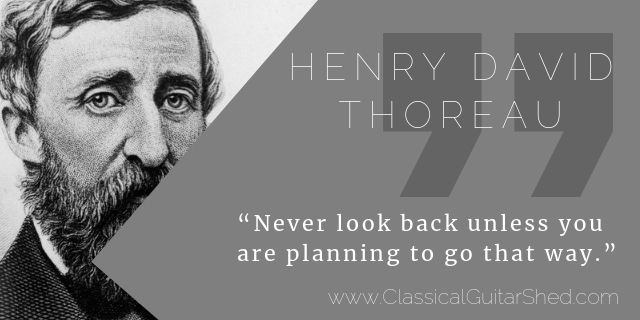 Henry David Thoreau guitar practice