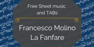 Molino renaissance guitar music