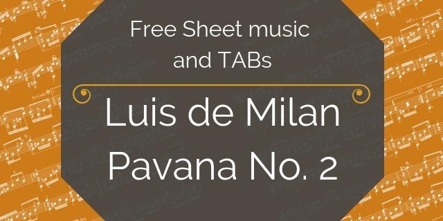 Milan free guitar pdf