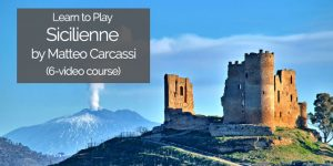 learn to play carcassi sicilienne on guitar