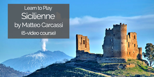 """Featured image for """"Learn to Play Carcassi's """"Sicilienne"""" (Short Guitar Course)"""""""