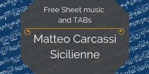 Carcassi tabs guitar free