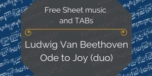 beethoven pdf music free