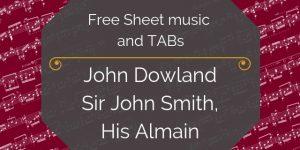 dowland free guitar pdf