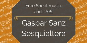 sanz guitar free download