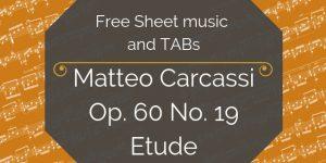 carcassi free pdf music