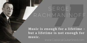rachmaninoff guitar practice