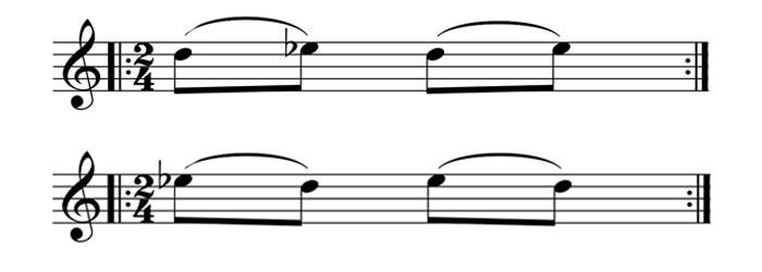 basic guitar slurs